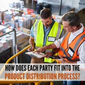 HOW DOES EACH PARTY FIT INTO THE PRODUCT DISTRIBUTION PROCESS
